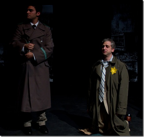 Patrick De Nicola & Tony Bozzuto in Memory at Backstage Theatre
