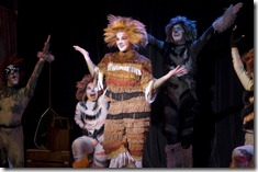 Rebecca Pink as Jennyanydots in Old Gumbie Cat - Cats - Theo-Ubique-Cabaret
