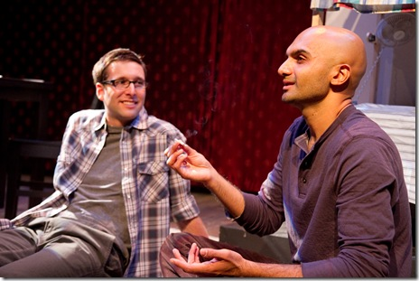 The Four Of Us - Theater Wit - Collin Geraghty and Usman Ally