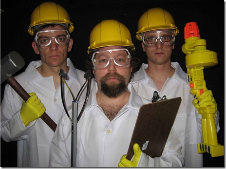 tim Soszka, Brian Posen, Brian Peterlin in Bri-Ko at Stage 773 Chicago