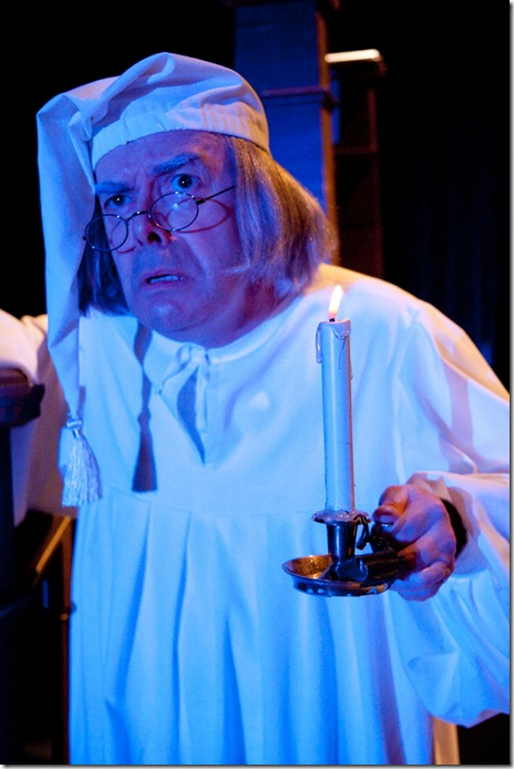 A CHRISTMAS CAROL- William Dick as Scrooge