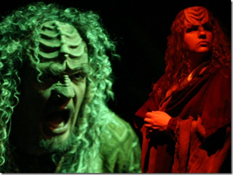 A Klingon Christmas Carol at the Greenhouse Theater Center