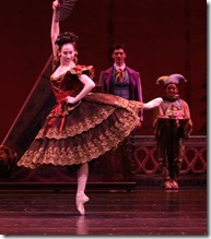 Amber Neumann as Chocolate from Spain - Joffrey Ballet Chicago - Photo by Herbert Migdoll