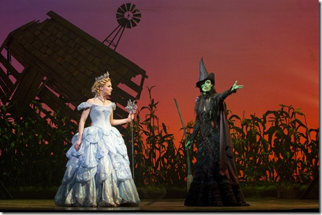 Chandra Lee Schwartz and Jackie Burns - Wicked - Broadway in Chicago