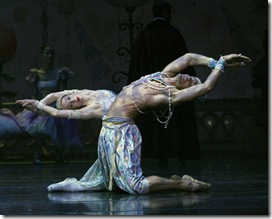 Fabrice Calmels and Kara Zimmerman in The Nutcracker - Joffrey Ballet