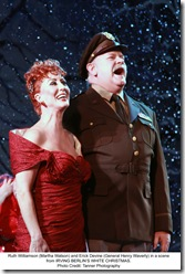 Martha Watson and Gen Henry Waverly in snow - Irving Berlin White Christmas