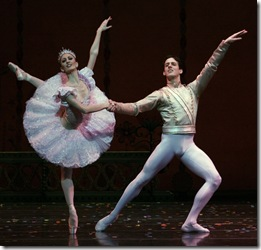 Miguel Angel Blanco and Victoria Jaiani in The Nutcracker - Joffrey Ballet