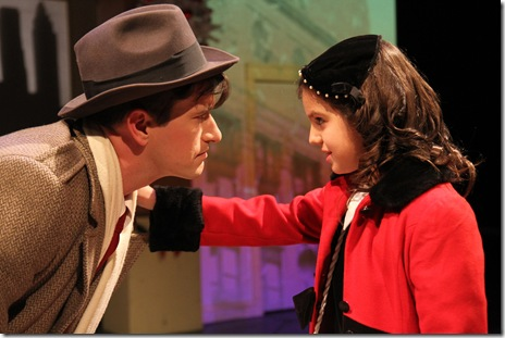 MIRACLE 2010--David Heimann as Fred Gailey and Nicole Karkazis as Susan Walker