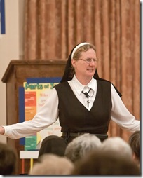 Mother Superior Lisa Braatz