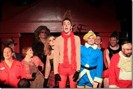 Rudolph finale by David as Joan