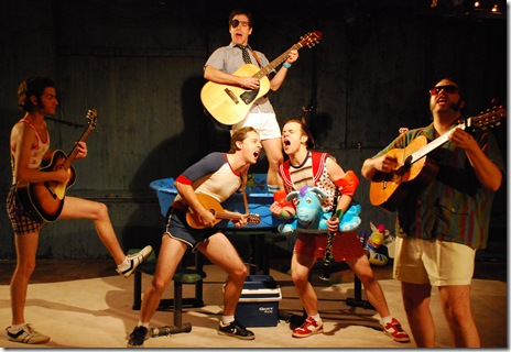 Ryan Bourque, Shawn Pfautsch, Zeke Sulkes, Doug Pawlik, Matt Kahler in Hypocrites Pirates of Penzance