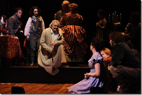 Scene from A Christmas Carol - Goodman Theatre Chicago 2