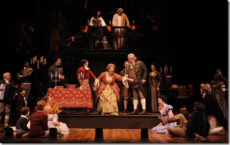 Scene from A Christmas Carol - Goodman Theatre Chicago