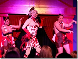 The Dragbeast! The Abominable Dragbeast (David Cerda, center) massacre's a Lady Gag_0007