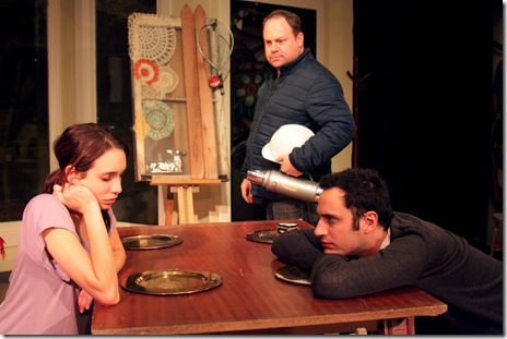Under Construction - Jackalope Theatre Co. - L to R - Brenann Stacker, Christopher Meister, & Dan Conway