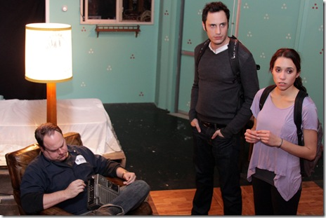 Under Construction - Jackalope Theatre Co. - L to R - Christopher Meister, Dan Conway, & Brenann Stacker