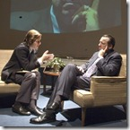 Andrew Carter and Terry Hamilton - Frost-Nixon at Timeline Theatre