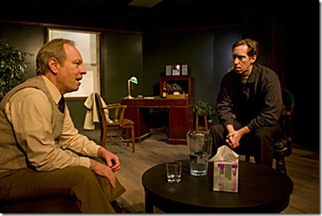 Brian Parry and John Arthur Lewis in Redtwist Theatre's 'Shining City' - photo Andrew Jessop