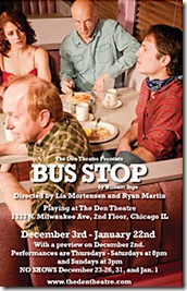 Bus Stop at the Den Theatre Chicago - poster