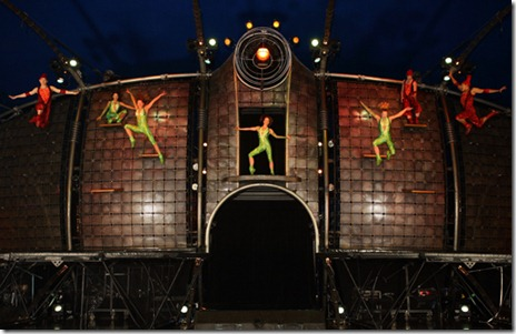 A scene from Cirque du Soleil's 'Dralion', now playing at the Sears Centre in Hoffman Estates.