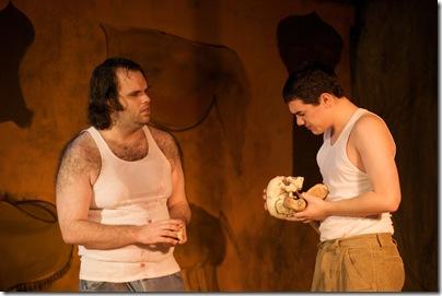 Derrick York and Rudy Galvan in Trickster--Photo byTom McGrath