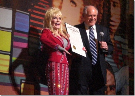 Dolly Parton and Gov Pat Quinn