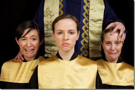 Escape from the Haltsburg Boys Choir - Ruckus Theatre. Photo by Lucas Gerald