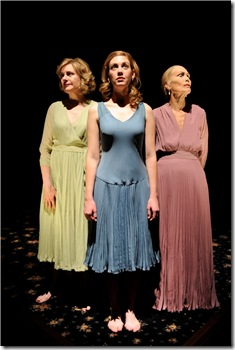 Mary Beth Fisher (Woman B), Maura Kidwell (Woman C) and Lois Markle (Woman A). Photo by Michael Brosilow