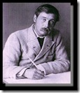 H G Wells writing