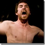 Ian Westerfer as Baal at TUTA Theatre