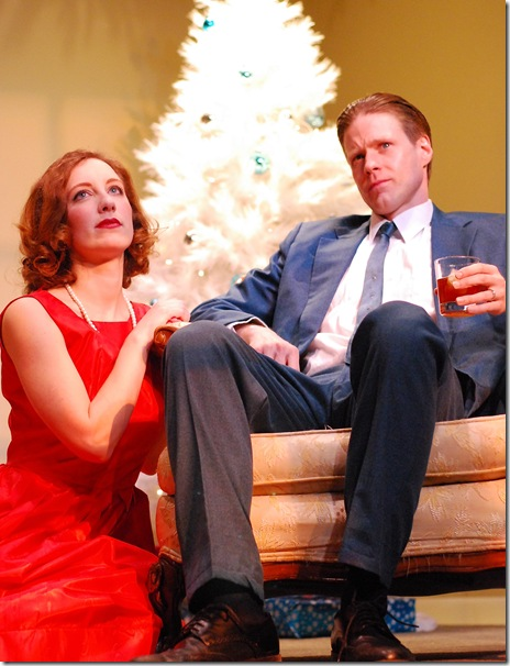 "Kate Cares and Stephen Dunn in Henrik Ibsen's ""A Doll's House"", presented by Infamous Commonwealth Theatre"
