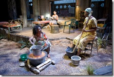 Leslie Ann Sheppard, Alana Arenas, Paige Collins - Eclipsed at Northlight Theatre