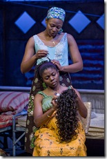 Leslie Ann Sheppard (seated), Alana Arenas (standing) - Eclipsed