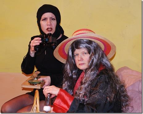 Mary Nigohosian and Mary Hobein