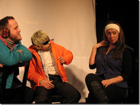 """Skiing is Believing"" at the Annoyance Theatre in Uptown"