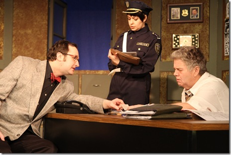 Joseph Stearns, Elizabeth Bagby, Vincent Lonergan, Signal Ensemble Theatre, Accidental Death of an Anarchist, Dario Fo, Anthony Ingram, Johnny Knight