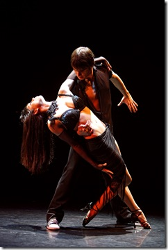 Ballroom Beat from 'Burn the Floor', now playing at Bank of America Theatre in Chicago. Photo by Joan Marcus.