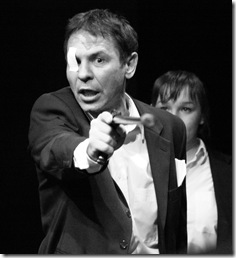 'Being Harold Pinter', adapted and directed by Vladimir Scherban of the Belarus Free Theatre.