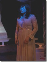Christine Lin  in Iphigenia ... (a rave fable) Photo by Tom McGrath.