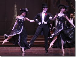 Christine Rocas, Miguel Angel Blanco, Jaime Hickey in Joffrey Ballet's 'The Merry Widow'