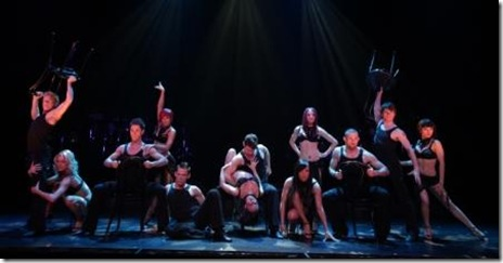 Club la Narcisse - cast of Broadway in Chicago's 'Burn the Floor'. Photo by Joan Marcus.