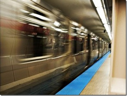 cta subway train