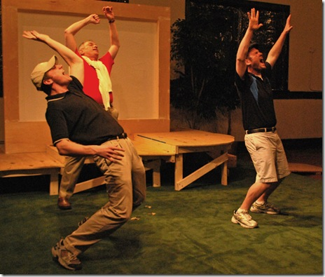 Scene from 'Fairways the Musical', presented by Chicago's Endpoint Theatre.