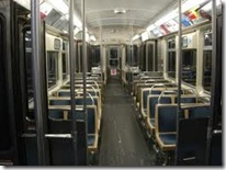 el train interior