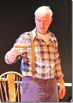 Larry Garner as Ivy in 'Feet of Clay' by Stephen Louis Grush, presented by LASTmatch Theatre Company, Chicago.