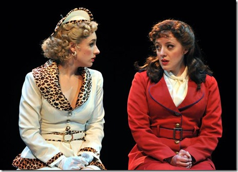 Jessie Mueller as Adelaide, Abby Mueller as Sarah - Marriott Theatre