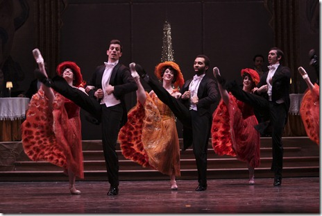 Ensemble from Joffrey Ballet's 'Merry Widow'