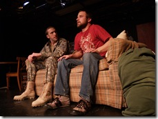 """scene from """"Run-of-the-Mill"""" by Tyler Dean, presented by Currently Untitled Theatre."""