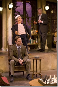 SLEUTH Lance Baker, Jack & Larry Yando, Theatre at the Center Munster