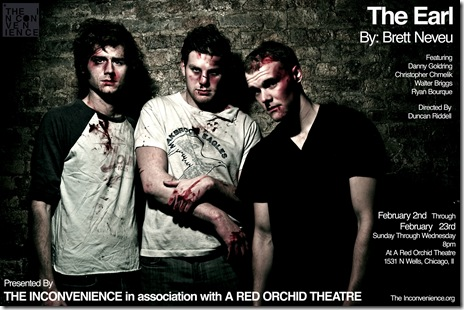 The Inconvenience's 'The Earl' at A Red Orchid Theatre. Photo credit Ryan Borque.
